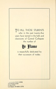 Page 12, 1934 Edition, Central Collegiate Institute - Ye Flame Yearbook (Regina, Saskatchewan Canada) online yearbook collection