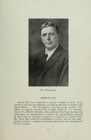 Page 11, 1936 Edition, St Michaels University School - Black Red and Blue Yearbook (Victoria, British Columbia Canada) online yearbook collection
