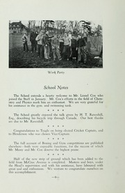 Page 14, 1936 Edition, St Michaels University School - Black Red and Blue Yearbook (Victoria, British Columbia Canada) online yearbook collection