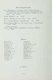 Page 16, 1936 Edition, St Michaels University School - Black Red and Blue Yearbook (Victoria, British Columbia Canada) online yearbook collection