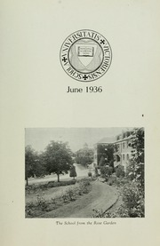 Page 7, 1936 Edition, St Michaels University School - Black Red and Blue Yearbook (Victoria, British Columbia Canada) online yearbook collection