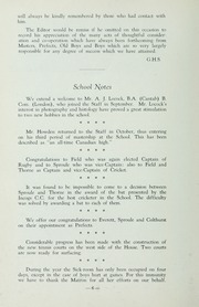 Page 12, 1938 Edition, St Michaels University School - Black Red and Blue Yearbook (Victoria, British Columbia Canada) online yearbook collection