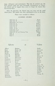 Page 14, 1938 Edition, St Michaels University School - Black Red and Blue Yearbook (Victoria, British Columbia Canada) online yearbook collection