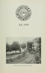 Page 7, 1939 Edition, St Michaels University School - Black Red and Blue Yearbook (Victoria, British Columbia Canada) online yearbook collection
