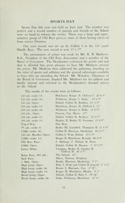 Page 15, 1945 Edition, St Michaels University School - Black Red and Blue Yearbook (Victoria, British Columbia Canada) online yearbook collection