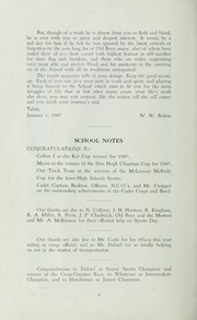 Page 8, 1945 Edition, St Michaels University School - Black Red and Blue Yearbook (Victoria, British Columbia Canada) online yearbook collection