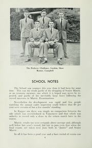 Page 10, 1952 Edition, St Michaels University School - Black Red and Blue Yearbook (Victoria, British Columbia Canada) online yearbook collection