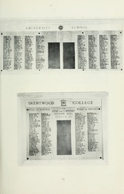 Page 15, 1952 Edition, St Michaels University School - Black Red and Blue Yearbook (Victoria, British Columbia Canada) online yearbook collection