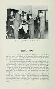 Page 16, 1952 Edition, St Michaels University School - Black Red and Blue Yearbook (Victoria, British Columbia Canada) online yearbook collection