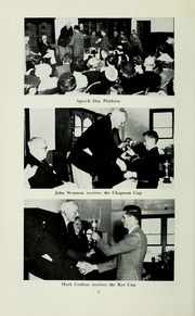 Page 12, 1956 Edition, St Michaels University School - Black Red and Blue Yearbook (Victoria, British Columbia Canada) online yearbook collection