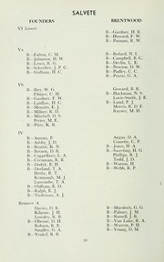 Page 14, 1957 Edition, St Michaels University School - Black Red and Blue Yearbook (Victoria, British Columbia Canada) online yearbook collection