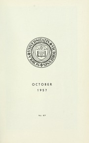 Page 5, 1957 Edition, St Michaels University School - Black Red and Blue Yearbook (Victoria, British Columbia Canada) online yearbook collection