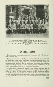 Page 10, 1960 Edition, St Michaels University School - Black Red and Blue Yearbook (Victoria, British Columbia Canada) online yearbook collection