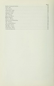 Page 8, 1962 Edition, St Michaels University School - Black Red and Blue Yearbook (Victoria, British Columbia Canada) online yearbook collection