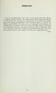 Page 17, 1973 Edition, St Michaels University School - Black Red and Blue Yearbook (Victoria, British Columbia Canada) online yearbook collection