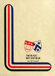 Page 1, 1981 Edition, St Michaels University School - Black Red and Blue Yearbook (Victoria, British Columbia Canada) online yearbook collection
