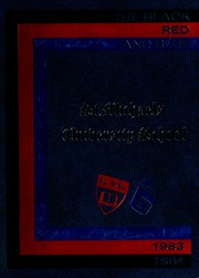 Page 1, 1984 Edition, St Michaels University School - Black Red and Blue Yearbook (Victoria, British Columbia Canada) online yearbook collection