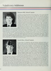 Page 12, 1985 Edition, St Michaels University School - Black Red and Blue Yearbook (Victoria, British Columbia Canada) online yearbook collection