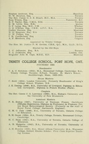 Page 9, 1955 Edition, Trinity College School - Record Yearbook (Port Hope, Ontario Canada) online yearbook collection