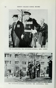 Page 326, 1965 Edition, Trinity College School - Record Yearbook (Port Hope, Ontario Canada) online yearbook collection