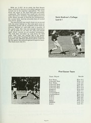 Page 109, 1969 Edition, Trinity College School - Record Yearbook (Port Hope, Ontario Canada) online yearbook collection