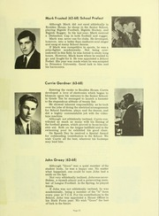 Page 63, 1969 Edition, Trinity College School - Record Yearbook (Port Hope, Ontario Canada) online yearbook collection
