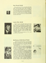 Page 70, 1969 Edition, Trinity College School - Record Yearbook (Port Hope, Ontario Canada) online yearbook collection