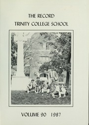 Page 5, 1987 Edition, Trinity College School - Record Yearbook (Port Hope, Ontario Canada) online yearbook collection