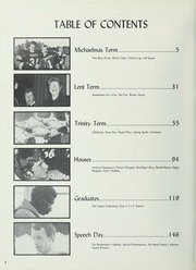 Page 8, 1987 Edition, Trinity College School - Record Yearbook (Port Hope, Ontario Canada) online yearbook collection