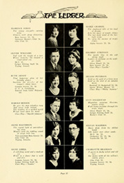 Page 16, 1928 Edition, Cleveland High School - Legend Yearbook (Portland, OR) online yearbook collection