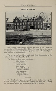 Page 6, 1929 Edition, Ashbury College - Ashburian Yearbook (Ottawa, Ontario Canada) online yearbook collection