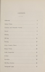 Page 3, 1930 Edition, Ashbury College - Ashburian Yearbook (Ottawa, Ontario Canada) online yearbook collection
