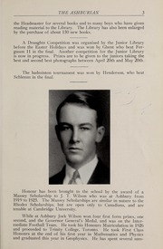 Page 7, 1930 Edition, Ashbury College - Ashburian Yearbook (Ottawa, Ontario Canada) online yearbook collection
