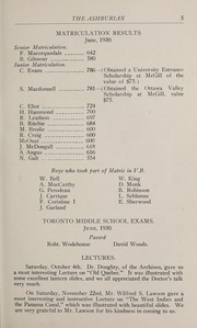 Page 11, 1931 Edition, Ashbury College - Ashburian Yearbook (Ottawa, Ontario Canada) online yearbook collection