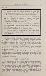 Page 9, 1931 Edition, Ashbury College - Ashburian Yearbook (Ottawa, Ontario Canada) online yearbook collection