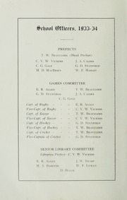 Page 12, 1933 Edition, Ashbury College - Ashburian Yearbook (Ottawa, Ontario Canada) online yearbook collection