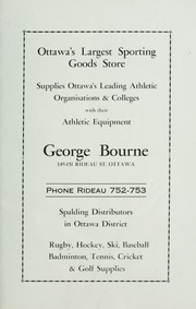 Page 7, 1933 Edition, Ashbury College - Ashburian Yearbook (Ottawa, Ontario Canada) online yearbook collection