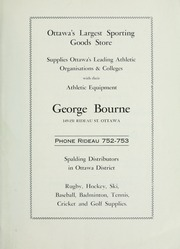 Page 9, 1935 Edition, Ashbury College - Ashburian Yearbook (Ottawa, Ontario Canada) online yearbook collection