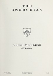 Page 3, 1936 Edition, Ashbury College - Ashburian Yearbook (Ottawa, Ontario Canada) online yearbook collection