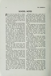 Page 16, 1945 Edition, Ashbury College - Ashburian Yearbook (Ottawa, Ontario Canada) online yearbook collection
