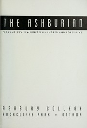 Page 3, 1945 Edition, Ashbury College - Ashburian Yearbook (Ottawa, Ontario Canada) online yearbook collection