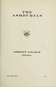 Page 3, 1947 Edition, Ashbury College - Ashburian Yearbook (Ottawa, Ontario Canada) online yearbook collection
