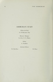 Page 10, 1949 Edition, Ashbury College - Ashburian Yearbook (Ottawa, Ontario Canada) online yearbook collection