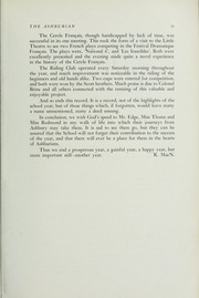 Page 15, 1949 Edition, Ashbury College - Ashburian Yearbook (Ottawa, Ontario Canada) online yearbook collection