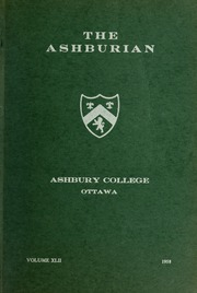 Ashbury College - Ashburian Yearbook (Ottawa, Ontario Canada) online yearbook collection, 1958 Edition, Page 1