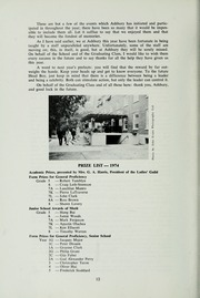 Page 14, 1974 Edition, Ashbury College - Ashburian Yearbook (Ottawa, Ontario Canada) online yearbook collection