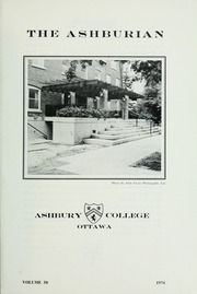 Page 3, 1974 Edition, Ashbury College - Ashburian Yearbook (Ottawa, Ontario Canada) online yearbook collection