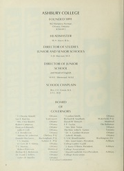 Page 6, 1981 Edition, Ashbury College - Ashburian Yearbook (Ottawa, Ontario Canada) online yearbook collection