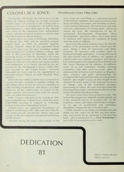 Page 8, 1981 Edition, Ashbury College - Ashburian Yearbook (Ottawa, Ontario Canada) online yearbook collection