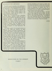Page 8, 1983 Edition, Ashbury College - Ashburian Yearbook (Ottawa, Ontario Canada) online yearbook collection